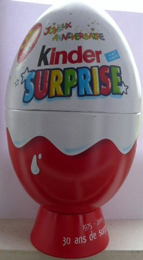 kinder surprise joyeux anniversaire
